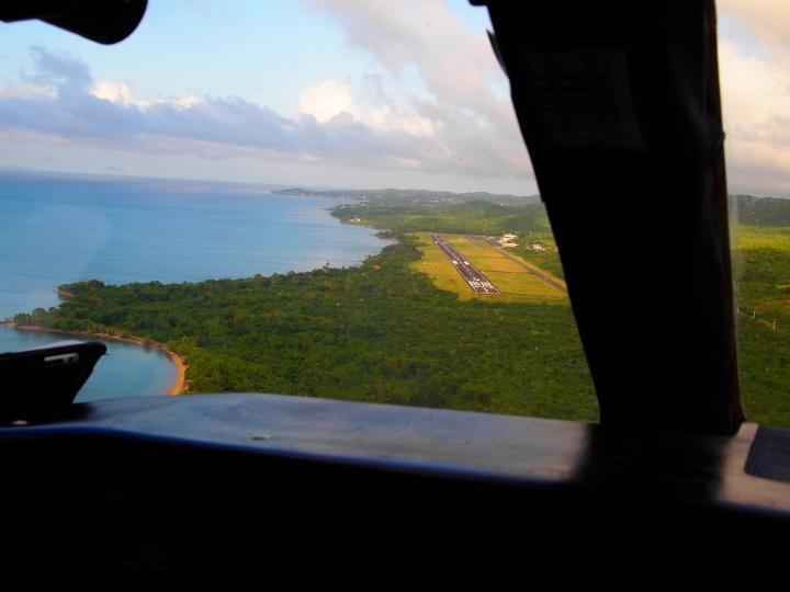 Landing in Vieques!
